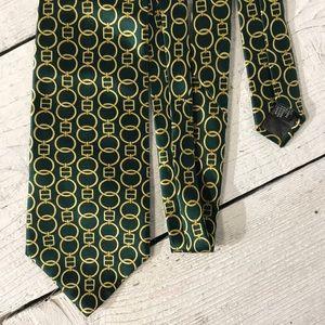 Luca Franzini Mens 100% Silk Tie Made In Italy
